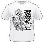 MASSAPPEAL - MASSAPPEAL - NOBODY LIKES A THINKER 2015 T-SHIRT (WHITE) - X-LARGE