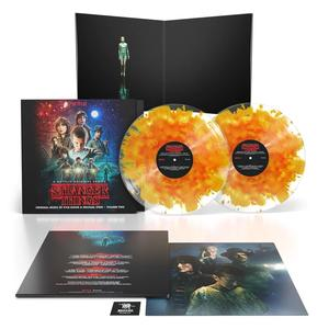 KYLE DIXON & MICHAEL STEIN, SOUNDTRACK - STRANGER THINGS: A NETFLIX ORIGINAL SERIES VOL. 2 (LIMITED COLOURED VINYL)