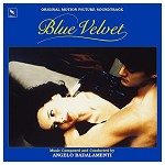 ANGELO BADALAMENTI, SOUNDTRACK - BLUE VELVET: ORIGINAL MOTION PICTURE SOUNDTRACK (VINYL)