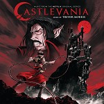 SOUNDTRACK, TREVOR MORRIS - CASTLEVANIA: MUSIC FROM THE NETFLIX ORIGINAL SERIES (LIMITED RED MARBLE COLOURED VINYL)
