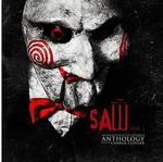 SOUNDTRACK, CHARLIE CLOUSER - SAW ANTHOLOGY VOLUME 1: ORIGINAL MOTION PICTURE SOUNDTRACK (SAW BLADE SILVER COLOURED VINYL)