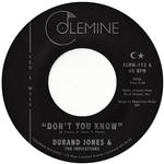 DURAND & THE INDICATIONS JONES - DON'T YOU KNOW