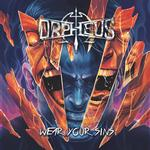 ORPHEUS OMEGA - WEAR YOUR SINS (LIMITED ORANGE WITH PURPLE / BLUE SPLATTER COLOURED VINYL)