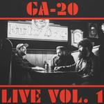 GA-20 - LIVE VOL.1 (TEAL COLOURED VINYL)