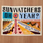 SUNWATCHERS - OH YEAH? (BROWN VINYL)